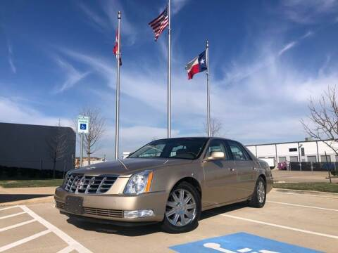 2006 Cadillac DTS for sale at TWIN CITY MOTORS in Houston TX