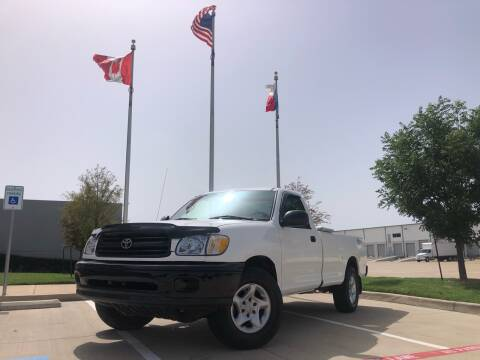 2002 Toyota Tundra for sale at TWIN CITY MOTORS in Houston TX