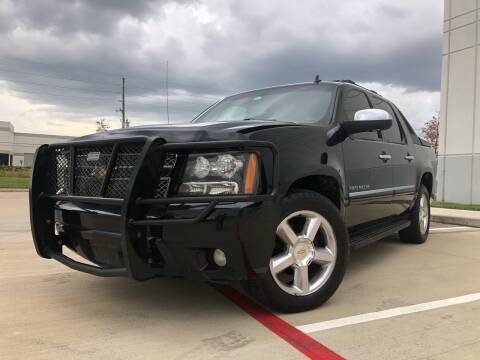 2010 Chevrolet Avalanche for sale at TWIN CITY MOTORS in Houston TX