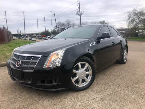 2008 Cadillac CTS for sale at TWIN CITY MOTORS in Houston TX