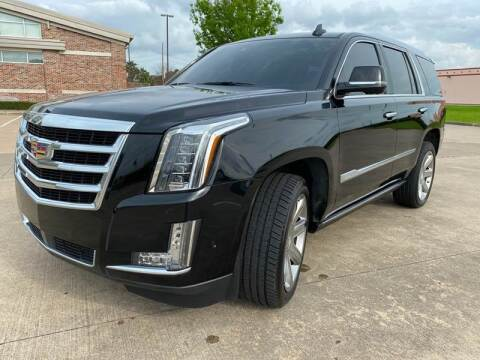 2017 Cadillac Escalade for sale at TWIN CITY MOTORS in Houston TX