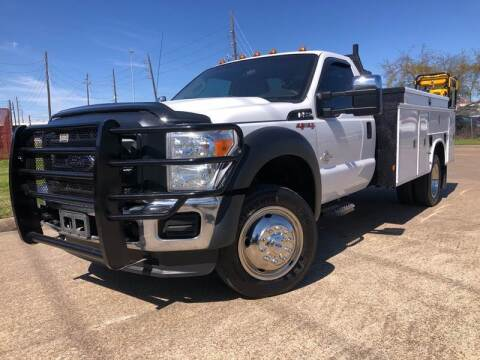 2016 Ford F-550 Super Duty for sale at TWIN CITY MOTORS in Houston TX