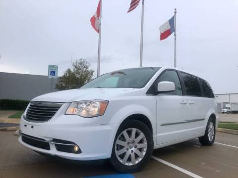 2015 Chrysler Town and Country for sale at TWIN CITY MOTORS in Houston TX