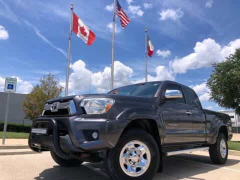 2013 Toyota Tacoma for sale at TWIN CITY MOTORS in Houston TX