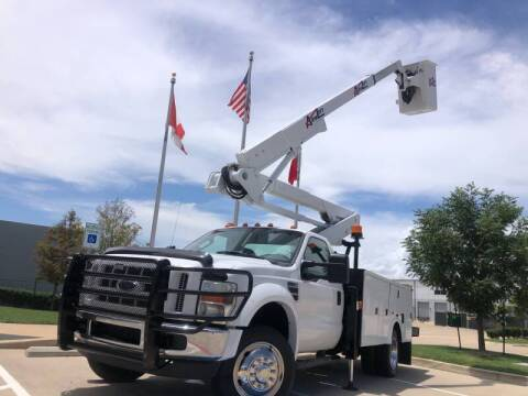 2008 Ford F-550 Super Duty for sale at TWIN CITY MOTORS in Houston TX
