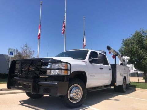 2012 Chevrolet Silverado 3500HD for sale at TWIN CITY MOTORS in Houston TX