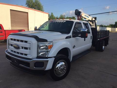 2011 Ford F-450 Super Duty for sale at TWIN CITY MOTORS in Houston TX