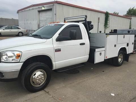 2008 Dodge Ram Chassis 3500 for sale at TWIN CITY MOTORS in Houston TX