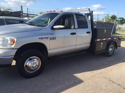 2007 Dodge Ram for sale at TWIN CITY MOTORS in Houston TX