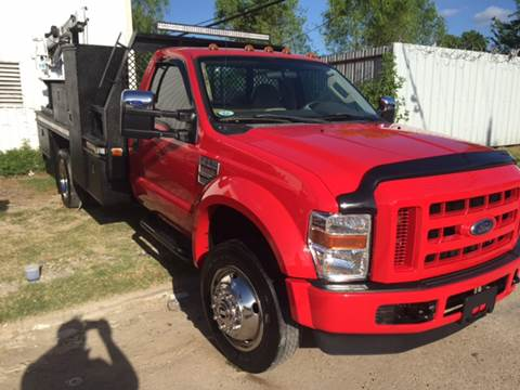 2009 Ford F-550 for sale at TWIN CITY MOTORS in Houston TX