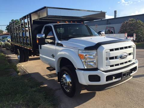 2011 Ford F-550 for sale at TWIN CITY MOTORS in Houston TX