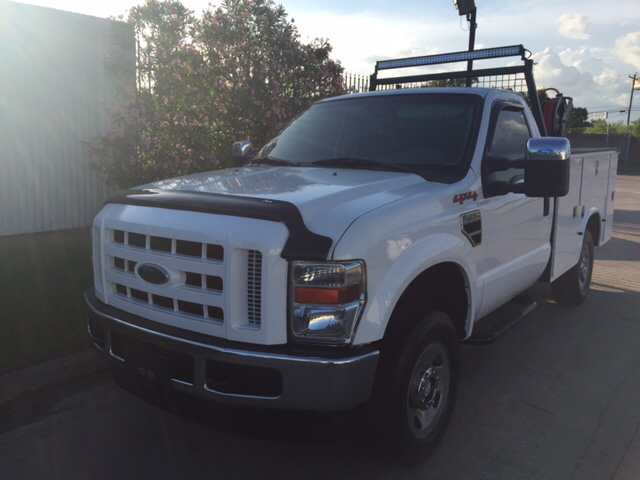 2008 Ford F-250 Super Duty for sale at TWIN CITY MOTORS in Houston TX