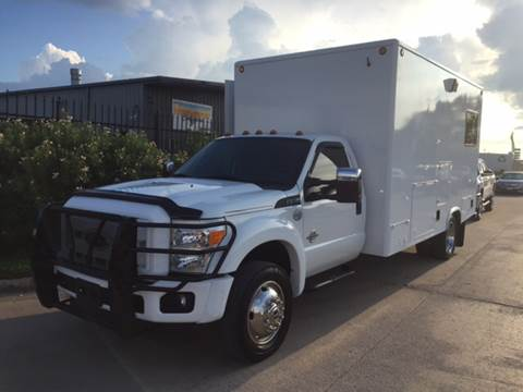 2013 Ford F-550 for sale at TWIN CITY MOTORS in Houston TX