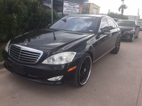 2007 Mercedes-Benz S-Class for sale at TWIN CITY MOTORS in Houston TX
