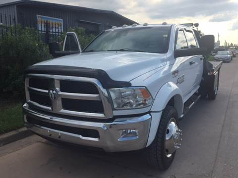 2013 Dodge Ram Chassis 5500 for sale at TWIN CITY MOTORS in Houston TX