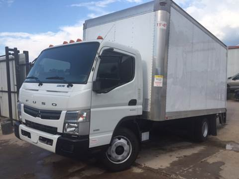 2013 Mitsubishi Fuso for sale at TWIN CITY MOTORS in Houston TX