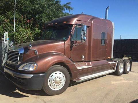 2003 Freightliner Columbia 120 for sale at TWIN CITY MOTORS in Houston TX