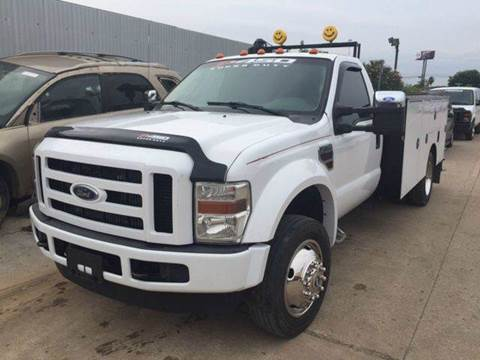 2008 Ford F-450 Super Duty for sale at TWIN CITY MOTORS in Houston TX