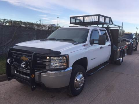 2012 Chevrolet Silverado 3500HD CC for sale at TWIN CITY MOTORS in Houston TX