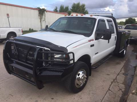2006 Ford F-350 Super Duty for sale at TWIN CITY MOTORS in Houston TX
