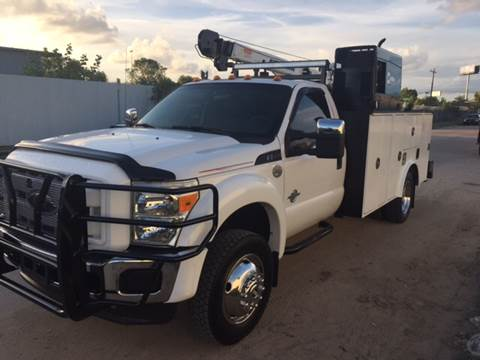 2012 Ford F-550 for sale at TWIN CITY MOTORS in Houston TX