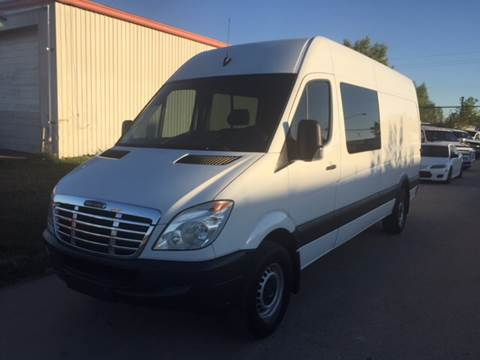 2011 Freightliner Sprinter 2500 for sale at TWIN CITY MOTORS in Houston TX