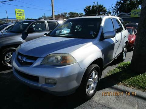 2004 Acura MDX for sale at TROPICAL MOTOR SALES in Cocoa FL