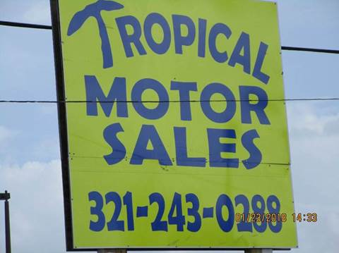 2003 Buick Rendezvous for sale at TROPICAL MOTOR SALES in Cocoa FL