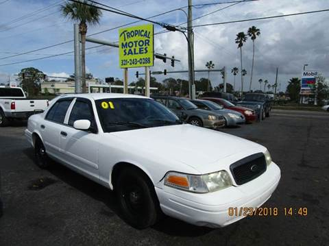 2001 Ford Crown Victoria for sale at TROPICAL MOTOR SALES in Cocoa FL