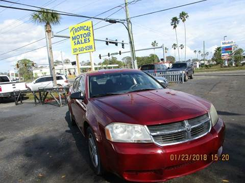 2008 Dodge Avenger for sale at TROPICAL MOTOR SALES in Cocoa FL
