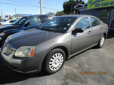 2005 Mitsubishi Galant for sale at TROPICAL MOTOR SALES in Cocoa FL