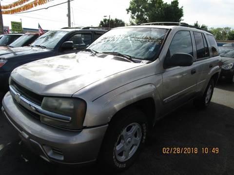 2005 Chevrolet TrailBlazer for sale at TROPICAL MOTOR SALES in Cocoa FL