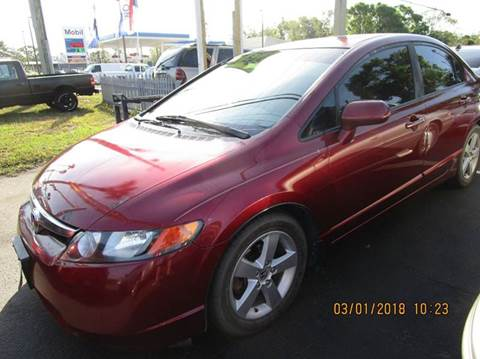 2008 Honda Civic for sale at TROPICAL MOTOR SALES in Cocoa FL