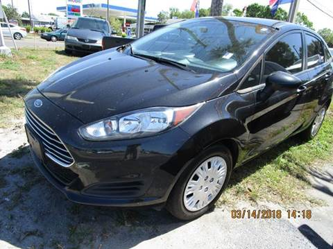 2014 Ford Fiesta for sale at TROPICAL MOTOR SALES in Cocoa FL