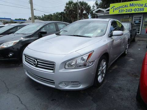 2014 Nissan Maxima for sale at TROPICAL MOTOR SALES in Cocoa FL