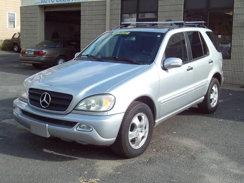 2002 Mercedes Benz M Class AWD ML 320 4MATIC 4dr SUV   Waterbury CT