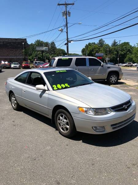2001 Toyota Camry Solara SE 2dr Coupe   Waterbury CT