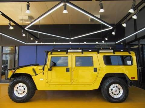 2002 HUMMER H1 for sale in Houston, TX