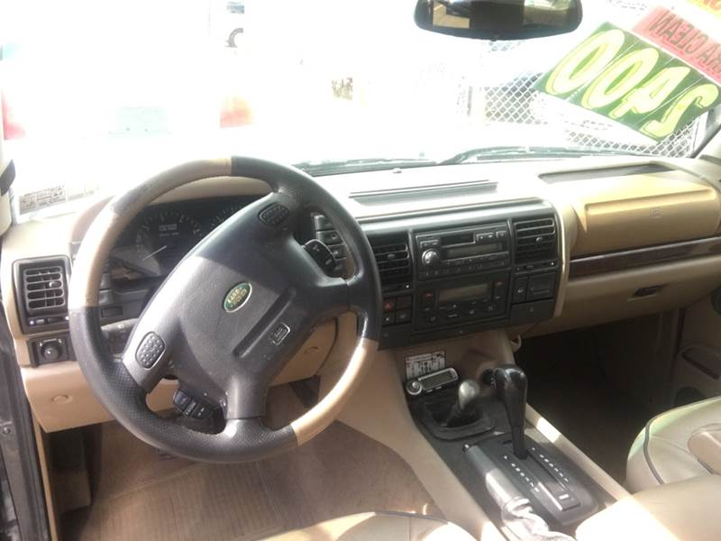 1999 land rover discovery 2 interior