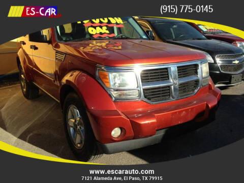 2008 Dodge Nitro for sale at Escar Auto in El Paso TX