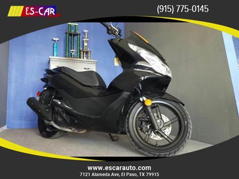 2015 Honda PCX150 for sale in El Paso, TX