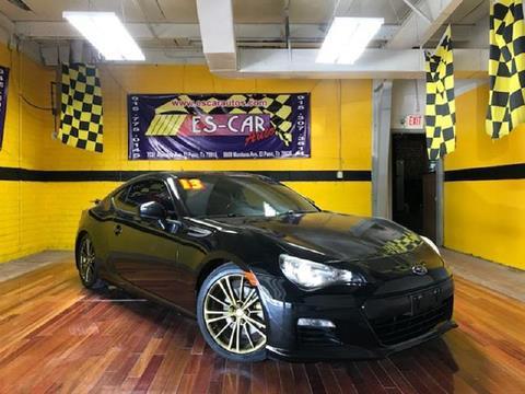 2013 Subaru BRZ for sale at Escar Auto in El Paso TX