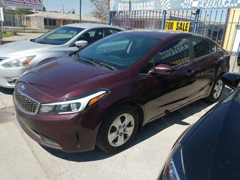 Awesome 2017 Kia Forte LX 4dr Sedan 6M   El Paso TX