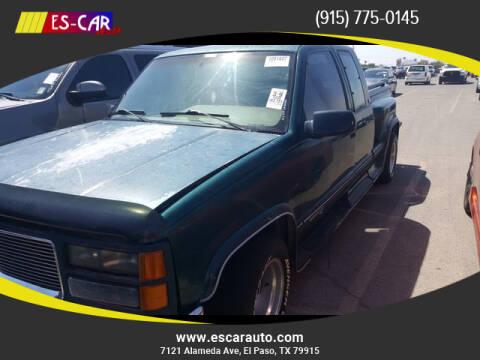 1995 GMC Sierra 1500 for sale in El Paso, TX