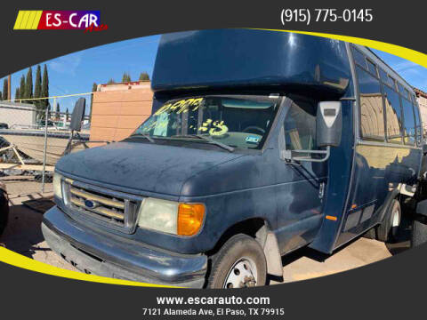 2005 Ford E-Series Chassis for sale at Escar Auto - 9809 Montana Ave Lot in El Paso TX