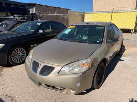 2008 Pontiac G6 for sale in El Paso, TX