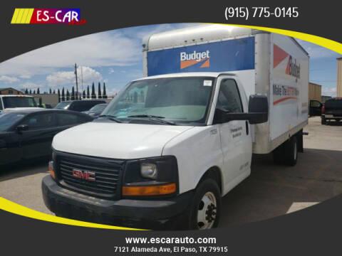 2011 GMC Savana Cutaway for sale at Escar Auto - 9809 Montana Ave Lot in El Paso TX