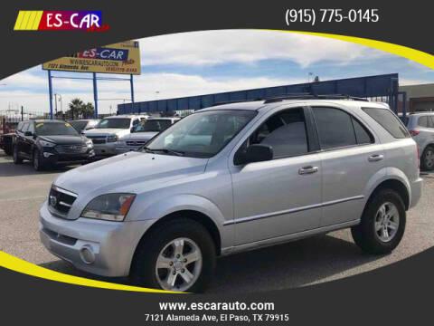 2006 Kia Sorento for sale at Escar Auto in El Paso TX