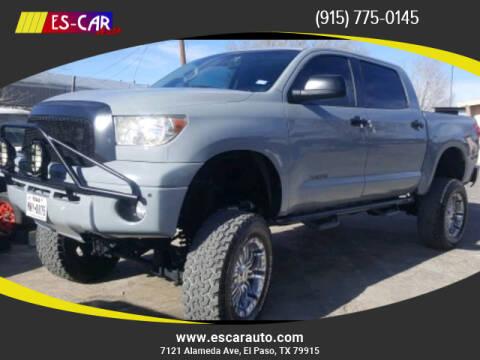 2008 Toyota Tundra for sale at Escar Auto in El Paso TX