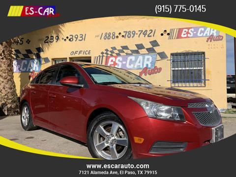 2014 Chevrolet Cruze for sale at Escar Auto in El Paso TX